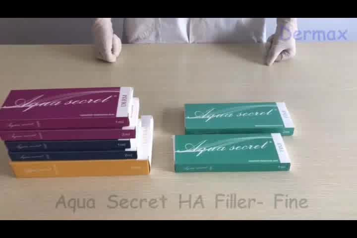 Aqua Secret CE collagen facial ha derma filler 1ml 2ml injectable hyaluronic acid dermal fillers