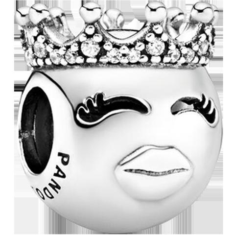 pandora/潘多拉女士925银皇冠公主串珠时尚个性串饰797143CZ