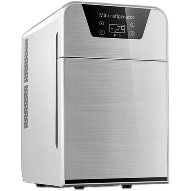 EOS迷你小冰箱小型家用宿舍用车载冰箱制冷藏寝室租房车家两用20L
