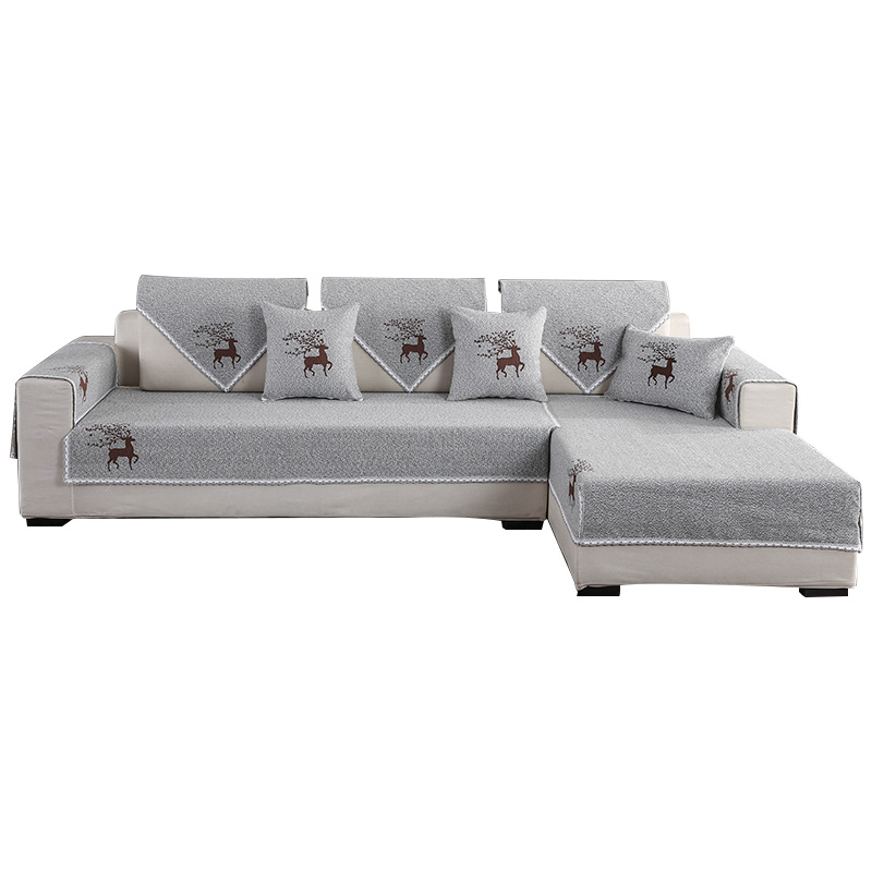 沙发垫四季布艺简约现代家用防滑罩质量好不好