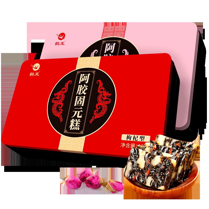鹤王阿胶糕纯即食女士型阿胶固元膏