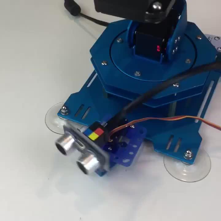 Tecnologia invenção Lewansoul-2018 Robô Braço 6 Eixo de Alta Qualidade, Kit Arduino, Arduino Braço Robótico