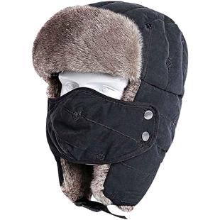 雷锋帽男士帽秋冬季东北防寒帽子