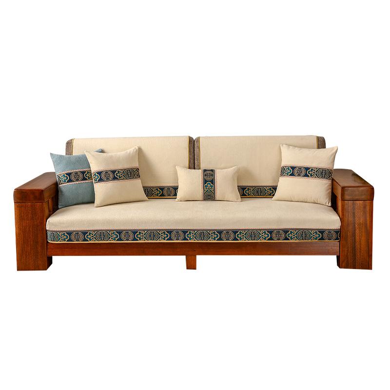 沙发垫四季防滑现代新中式皮靠背巾怎么样