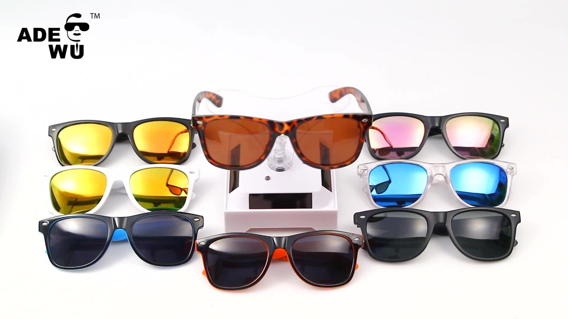 ADE WU 2017 gafas de sol cheap promotion polarized mirrored sunglasses replica offer private label sunglasses brand your own