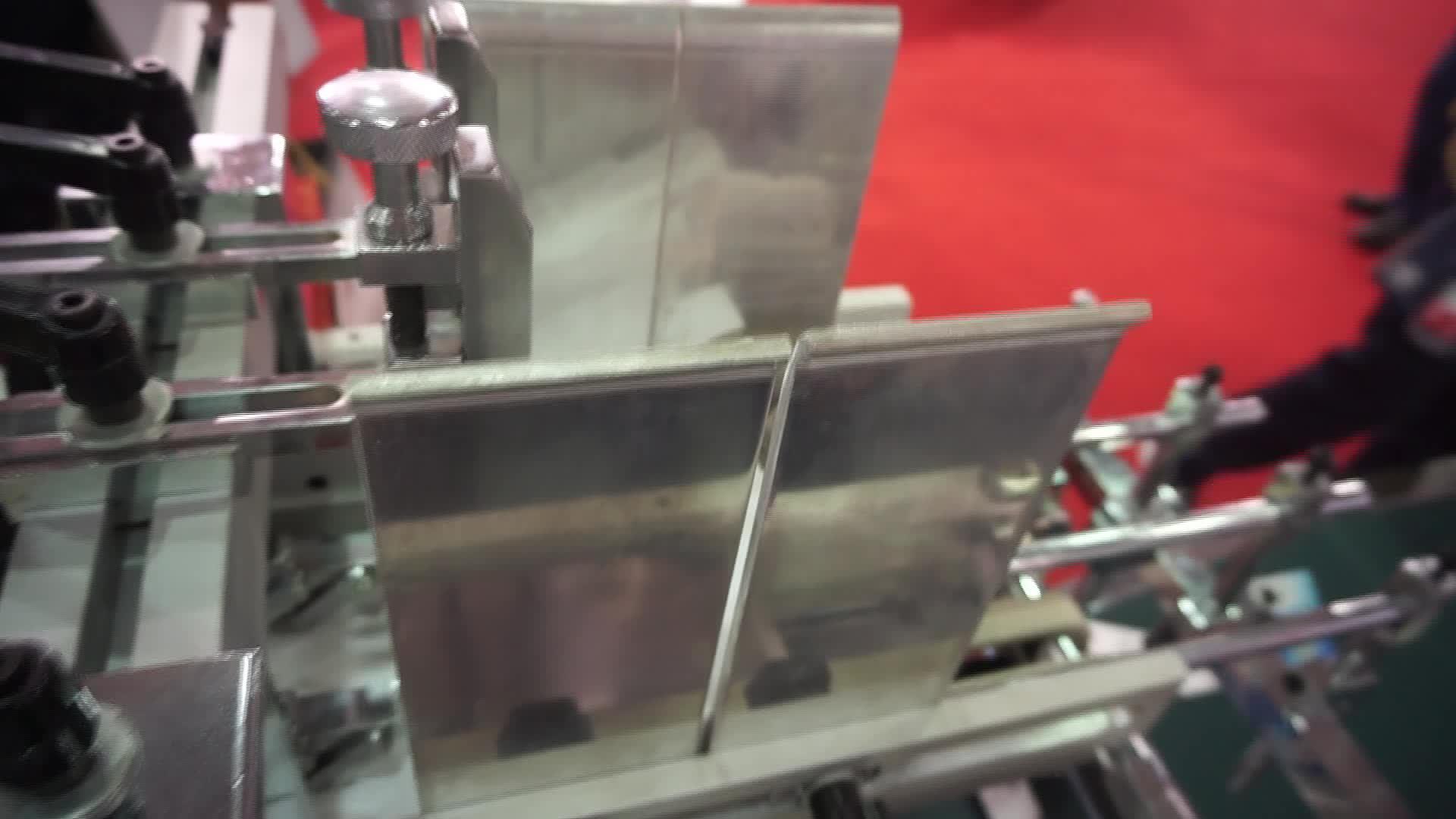 HH-658 Carton box gluing machine for small boxes