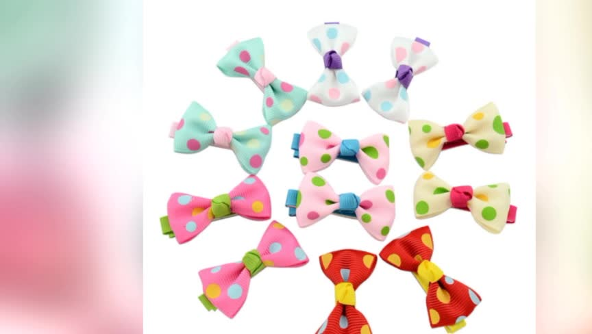 SZ101 wholesale bows made from ribbon /ribbon bow