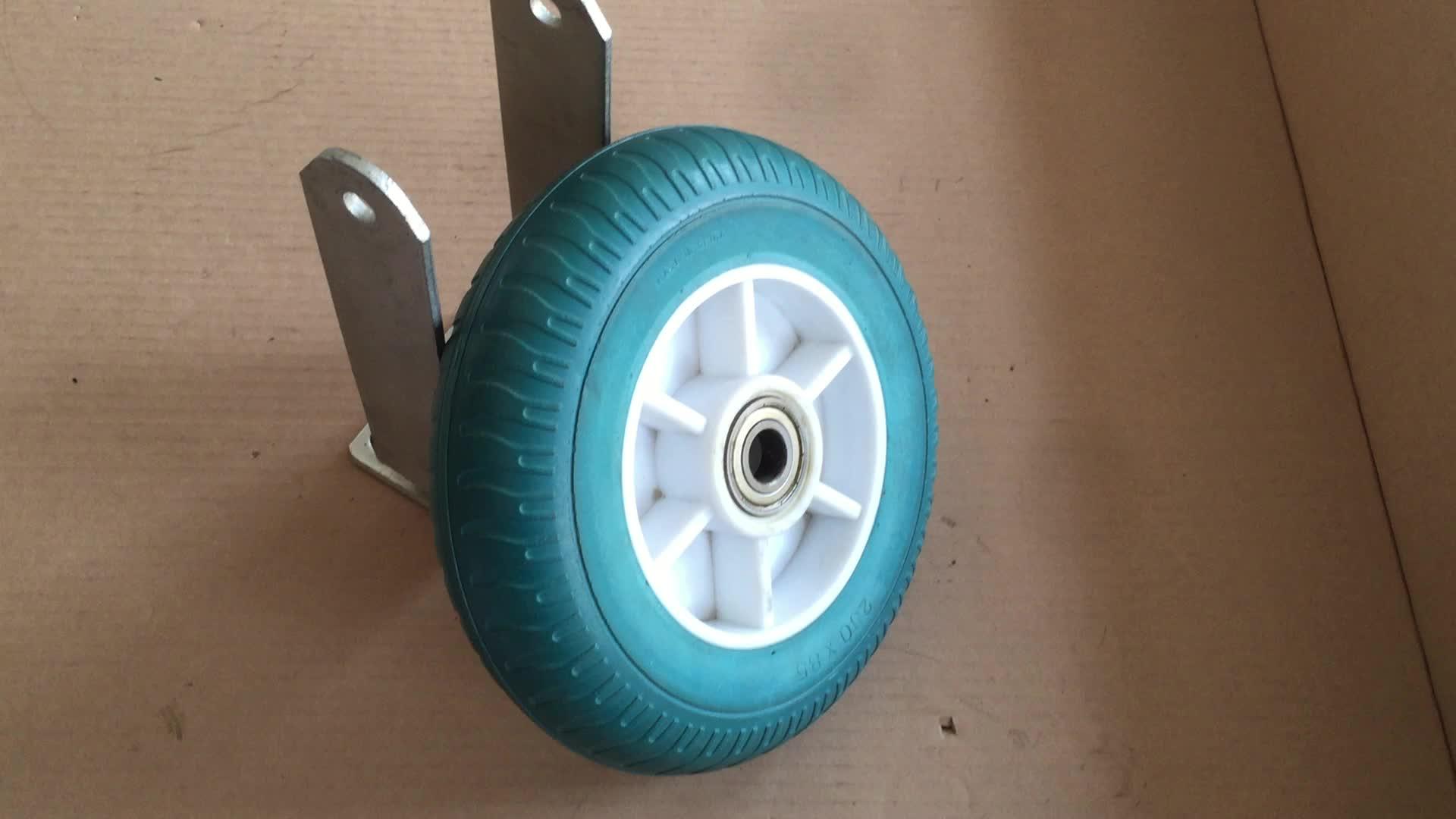 Customized PU Foam Solid Golf Pull Cart Wheels