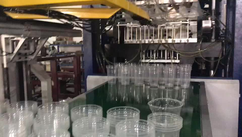 full-auto thermoforming machine for the manufacture of disposable cups