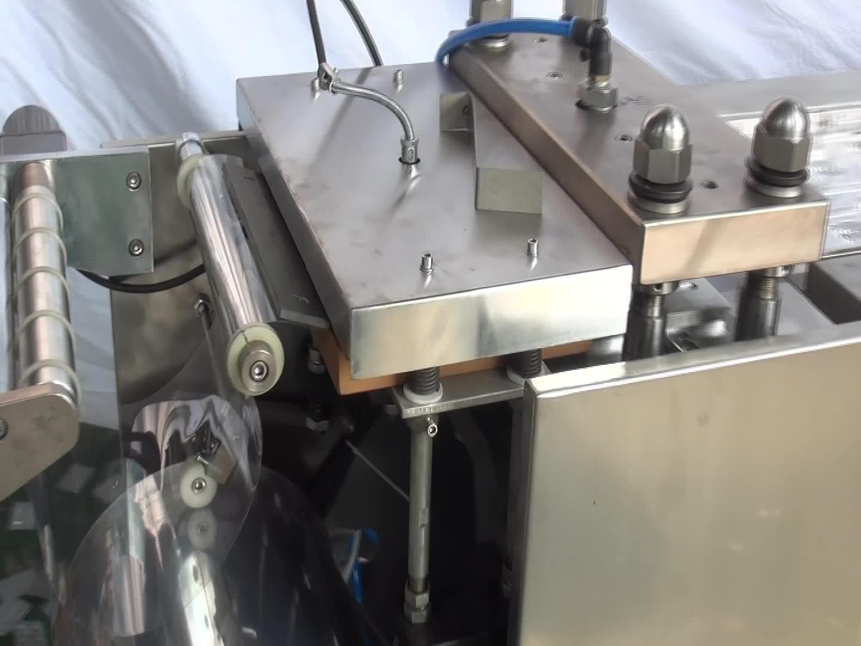 DPB-250 blister máquina de embalagem de chocolate Liso
