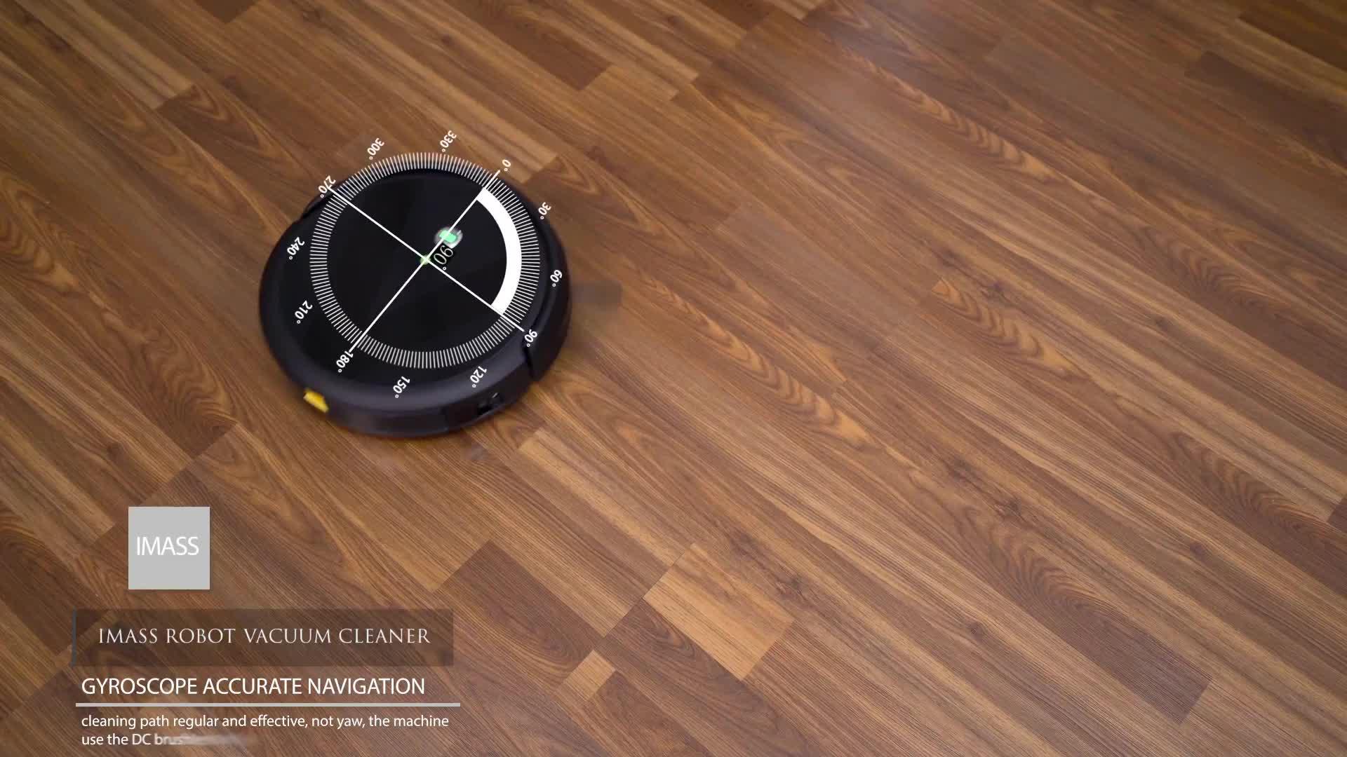 Smart Boden Oberfläche Automatische Vakuum roboter für Home Office Verwenden Nass und Trocken Staubsauger