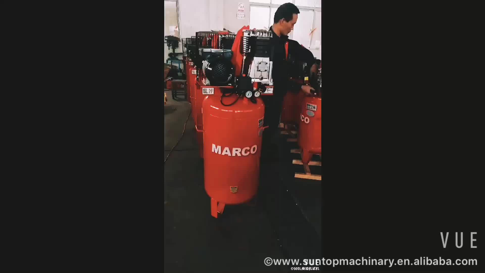 best factory promotional 3 hp piston air compressor 50l 2 cylinder