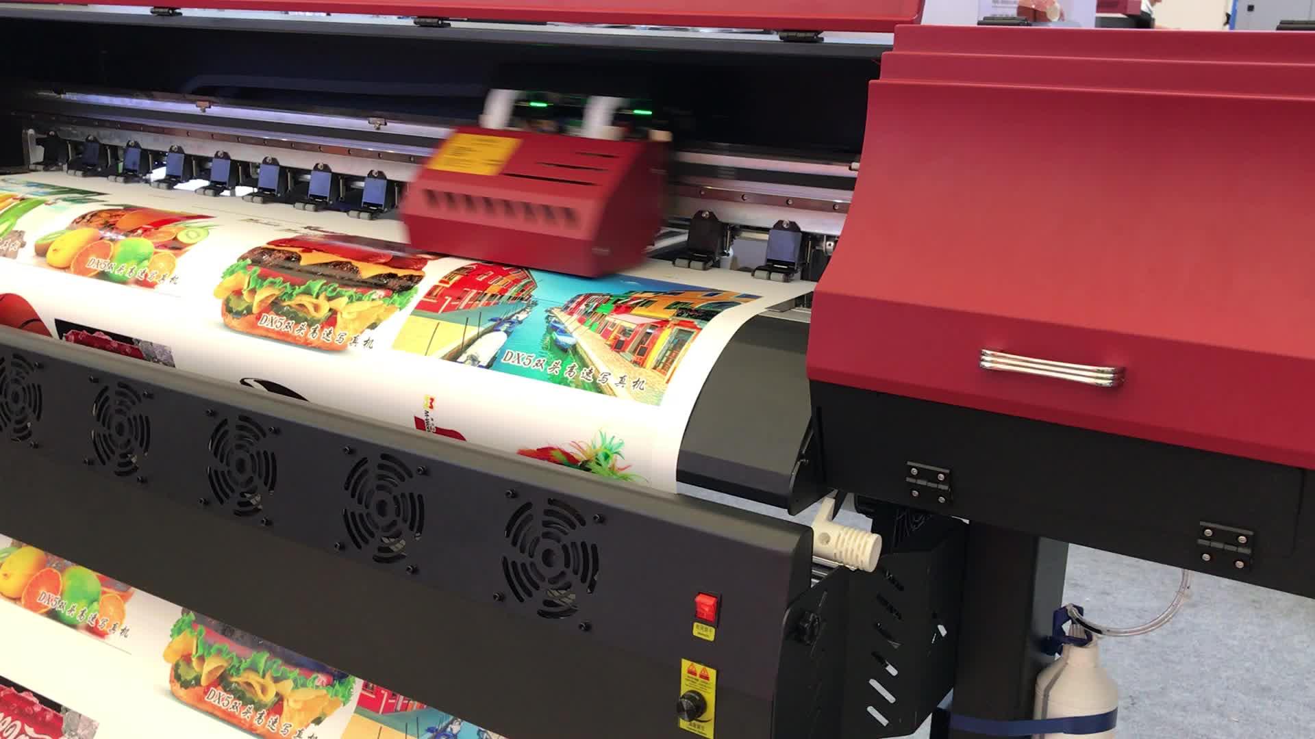 Rolo de papel Infinito 1.6 m / 1.8 m de largura 1680 V diy grande formato de imagem impressora digital de jato de tinta de embalagem de salsicha