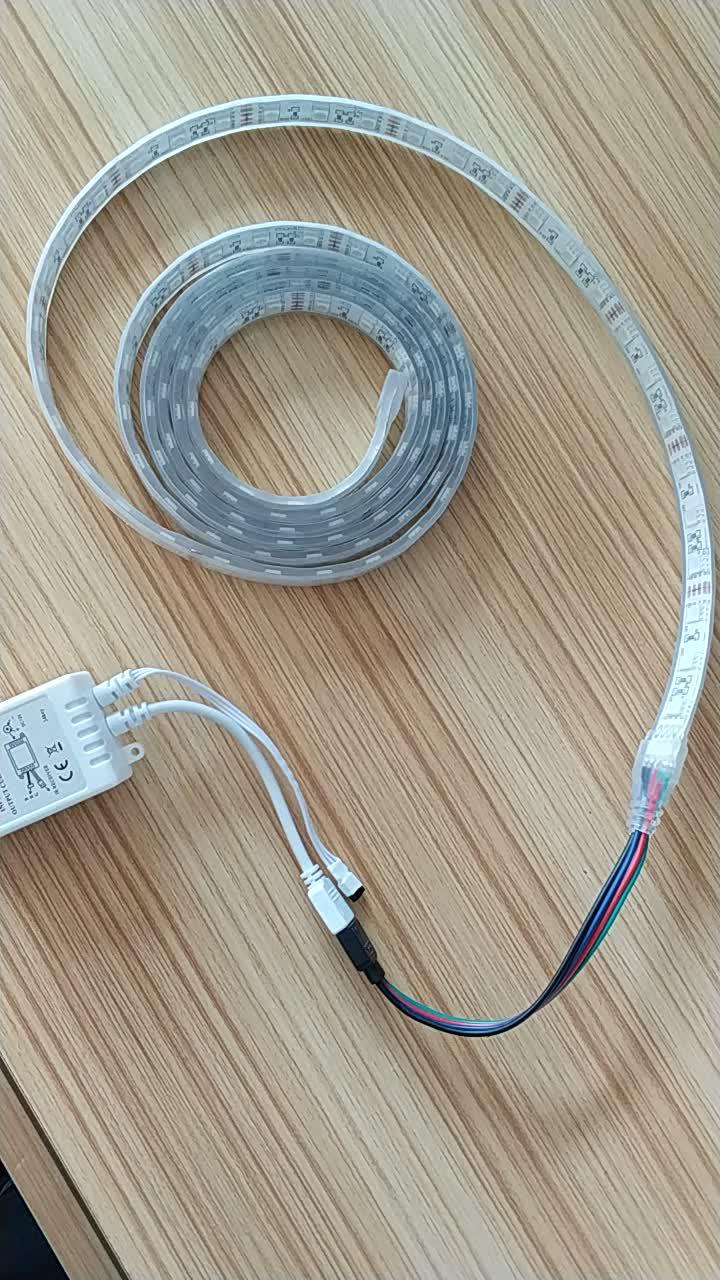 DC12V 5050 smd flexible rgb ip68 waterproof led strip light