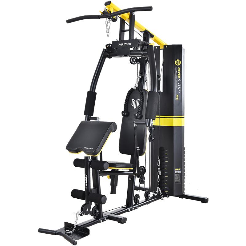 健身器材家用室内多功能套装组合健身房运动器械综合训练器单人站