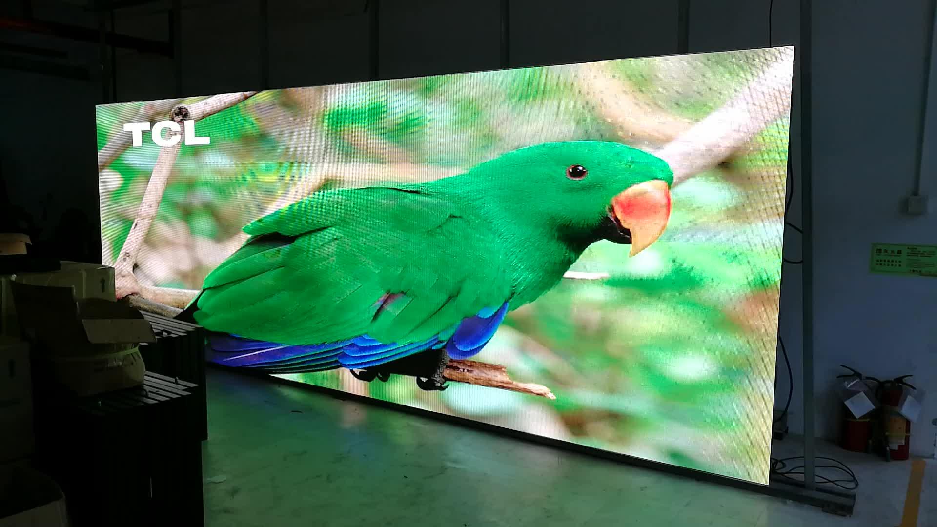 P4.81 outdoor waterproof Die-casting Aluminum Rental Led Display screen