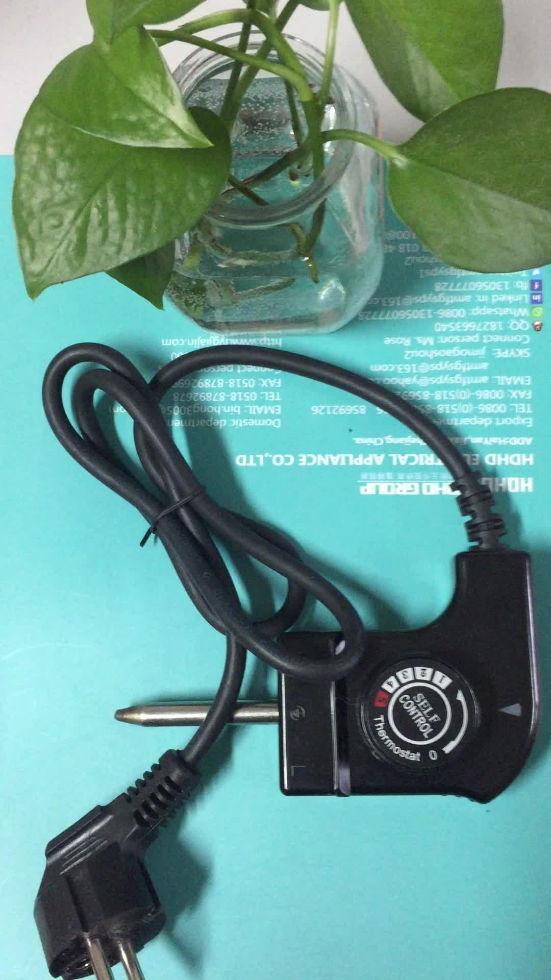 250v-10a 125v-15a High Temperature Regulating Wire Grill Thermostat ...