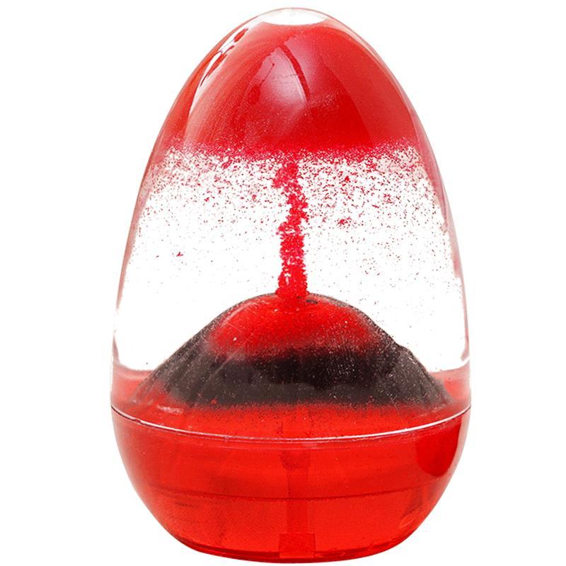 火山爆发沙漏计时器女液体双色油滴好不好