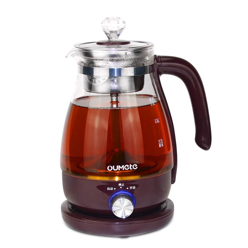 欧美特黑茶煮茶器玻璃家用养生壶质量好不好