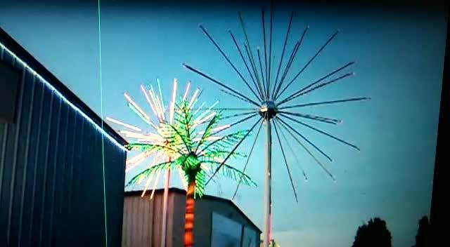 China Wholesale Led Christmas Fireworks Light Wedding
