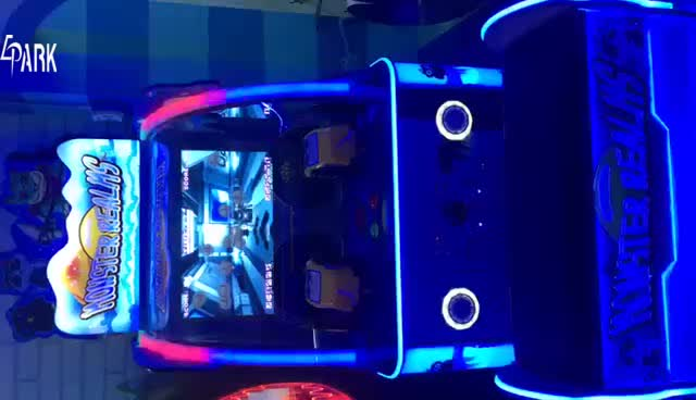 Coin operated electronic monster realms ball shooting arcade game machine for indoor games room