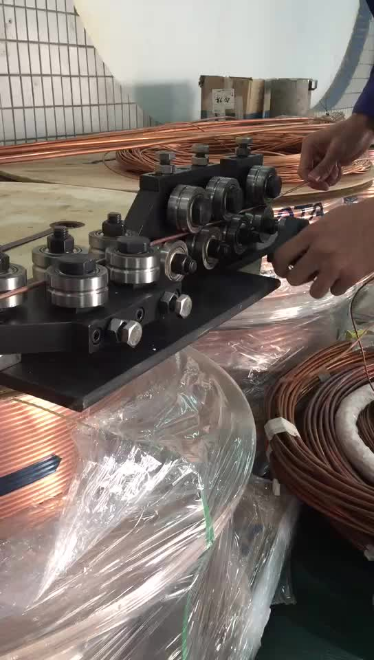 Manual Wire Straightener 14 Roller To Straight Copper