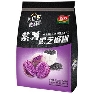 智力紫薯黑芝麻营养糊520g黑芝麻糊