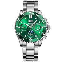 水鬼嘉年华手表男机械表时尚夜光防水多功能男表2021新款国产腕表