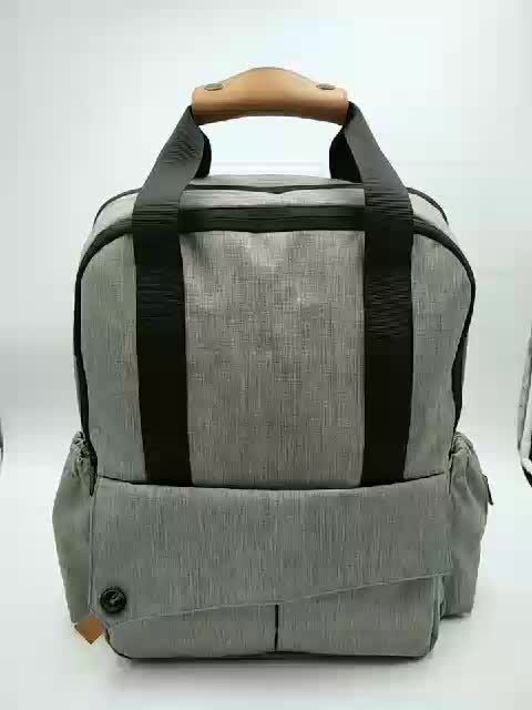 Cheap Wholesale waterproof Mother Baby Bag with Changing Bag