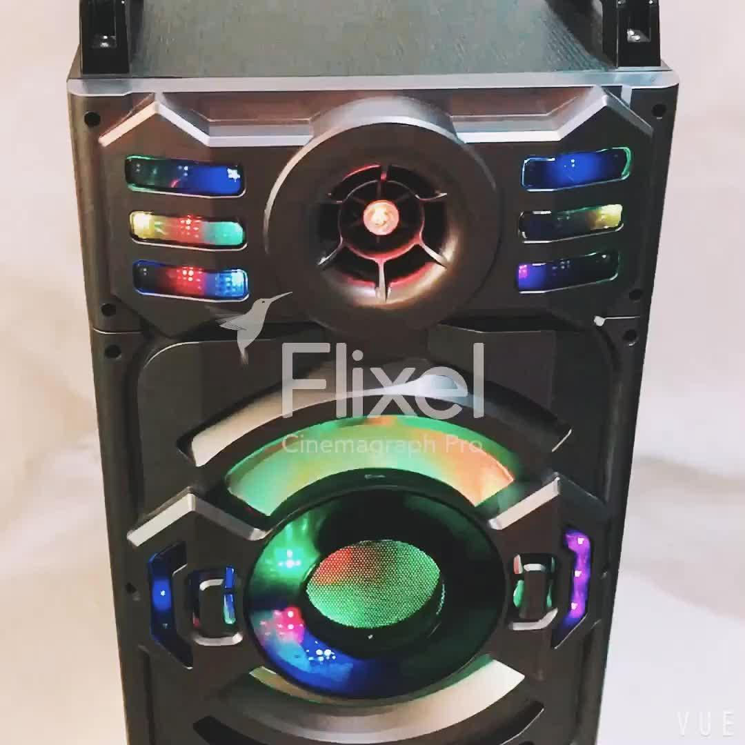 Музыкальная шкатулка портативный PA усилители багажника динамики