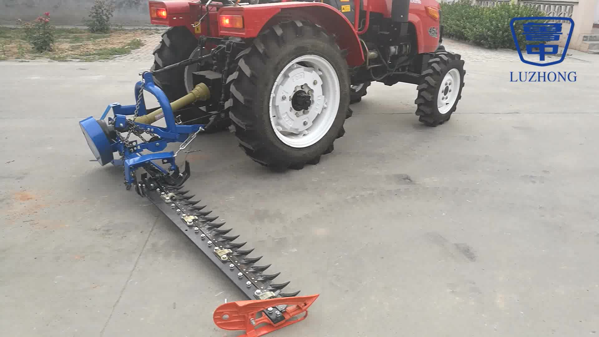 Tractor Vertical Mower With Wide Cutting Width 1 4m 2 1m