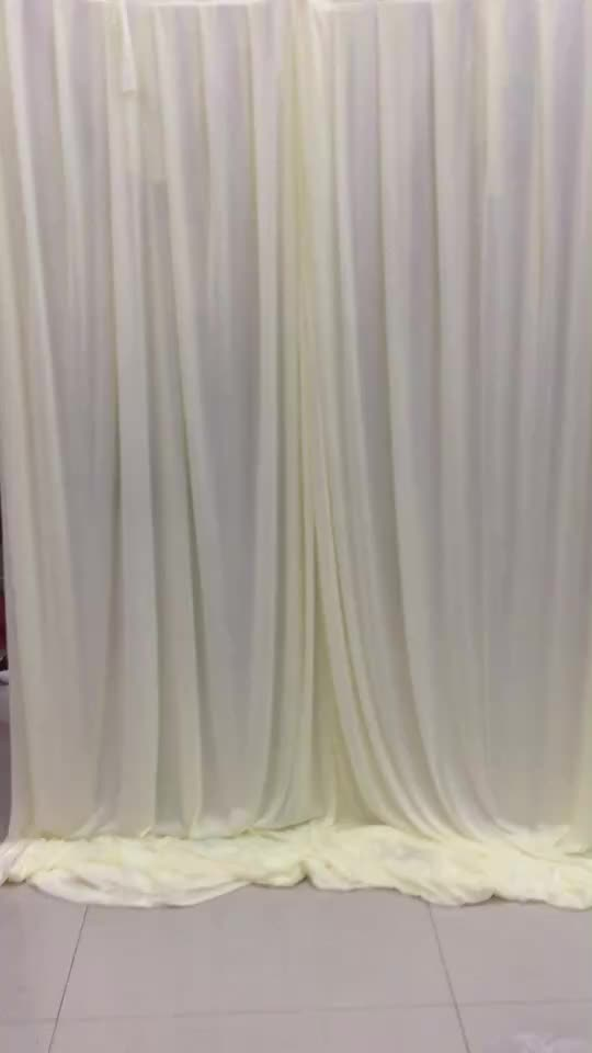 drape wedding supplies ideas photo stage of fabric backdrop luxury with awesome decorators swag x props drapes color curtains decorations pink