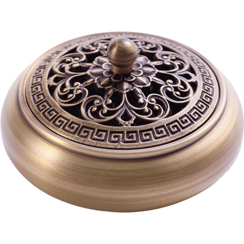 墨凡家用室内仿古供佛摆件纯铜香炉值得购买吗