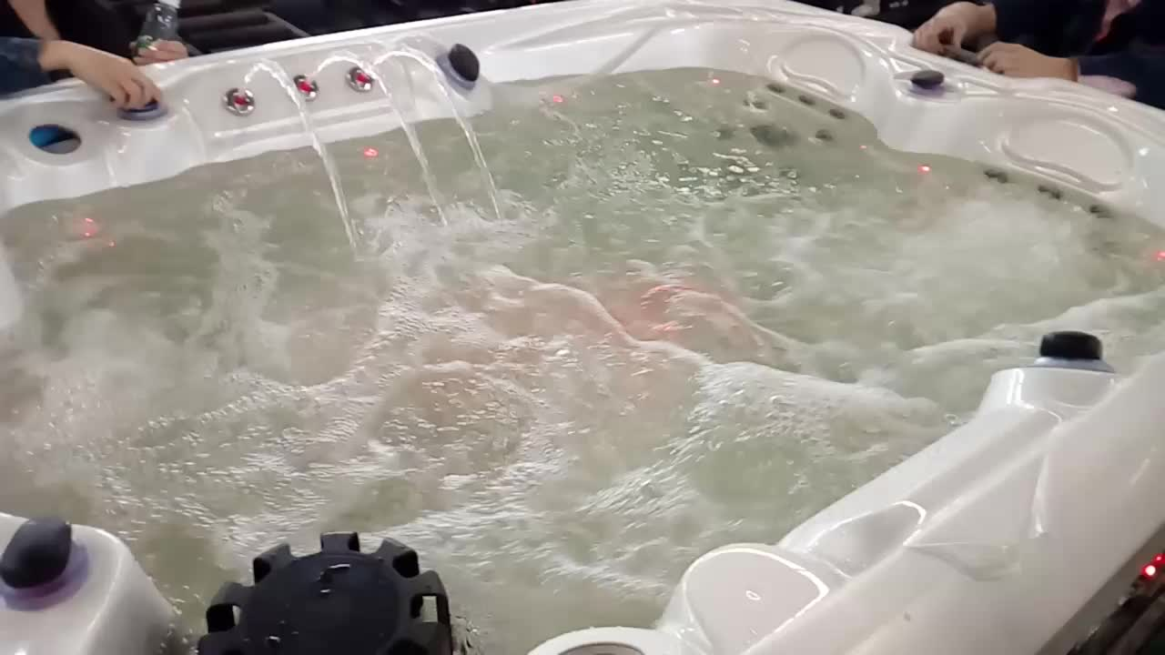 Sr808c Easy Install 3 Person Hot Tub Whirlpool Outdoor Spa - Buy 3 ...