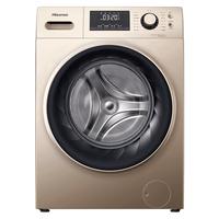 海信10公斤kg洗烘甩干洗脱一体滚筒洗衣机全自动家用HD100DES142F