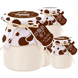 【巧妈妈】炒酸奶布丁4杯装