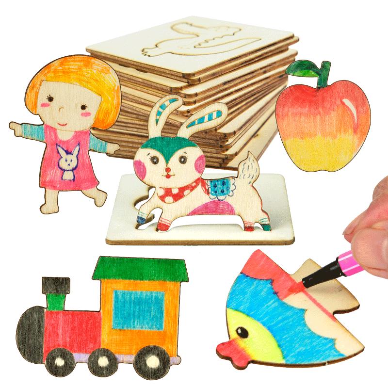 画画套装工具幼儿园小学生益智玩具
