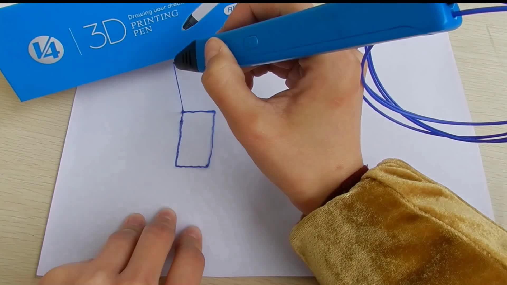 Wholesale Toys JER Educational 3D Printer Drawing Pen 3D Painting Pen For Kids