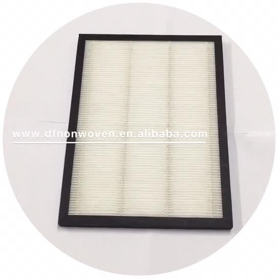 Alibaba china supplier hot sale air freshener cleaner h12 air purifier replacement HEPA filter