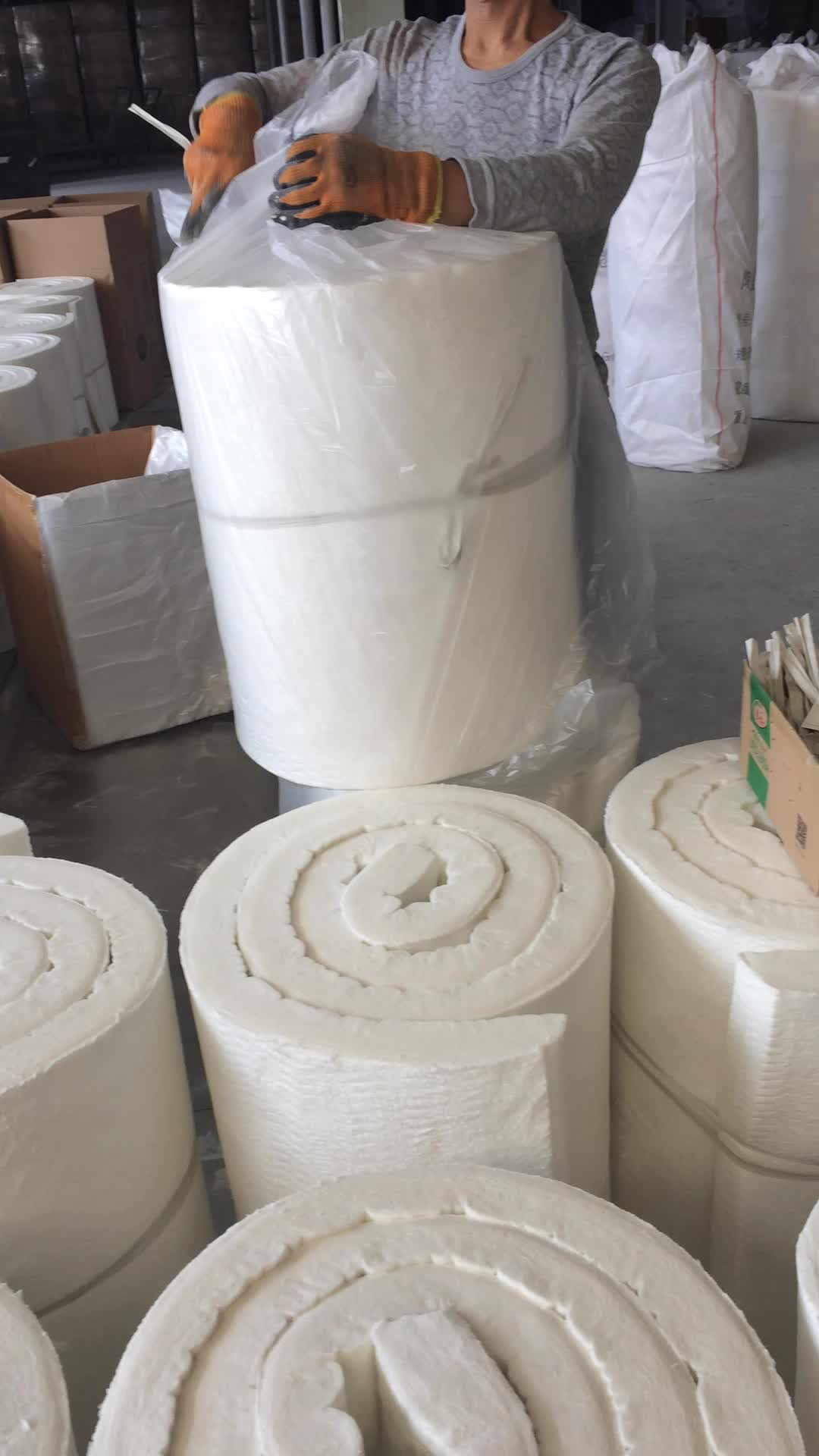 10mm fire blanket application for insulation for steam pipe