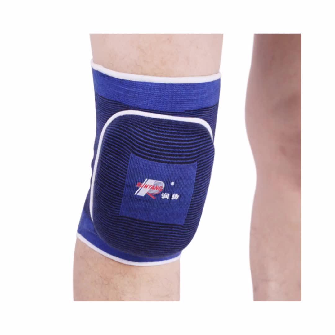 Malha suave espuma de EVA do apoio do joelho joelheiras de vôlei