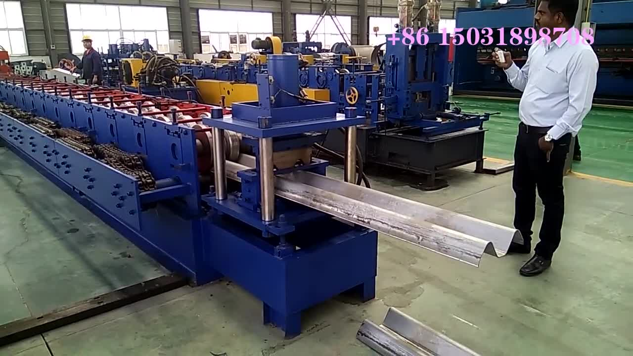 Thailand used  highway guardrail/traffic barrier roll forming making machine