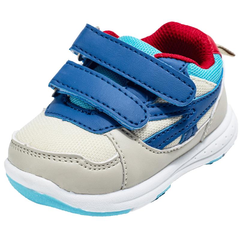 儿童宝宝机能鞋秋季男女婴儿透气网布学步鞋1-3-5岁软底宝宝鞋子
