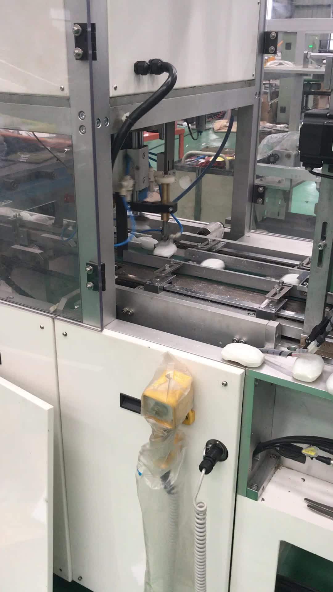 Automatic paper wrapper wrapping machine for soap