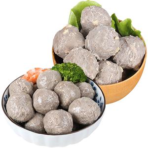 雄丰客家牛肉丸组合4包共1kg食材