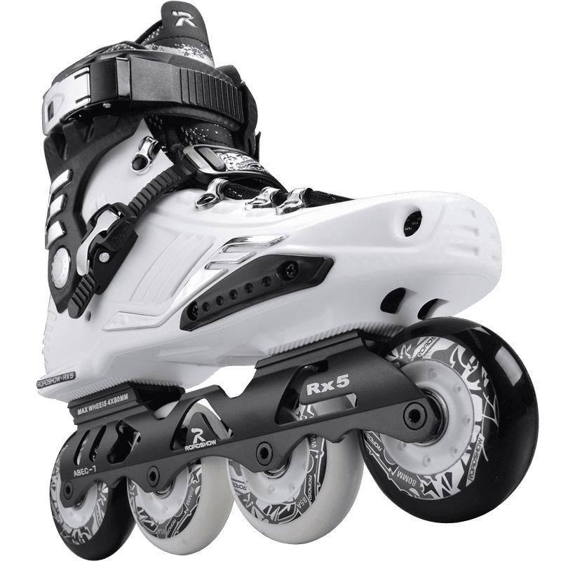 乐秀rx5大学生溜冰鞋直排轮滑鞋