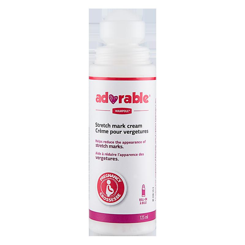 加拿大 Adorable 孕妇专用 去产后非橄榄油孕期 修复预防妊娠纹霜