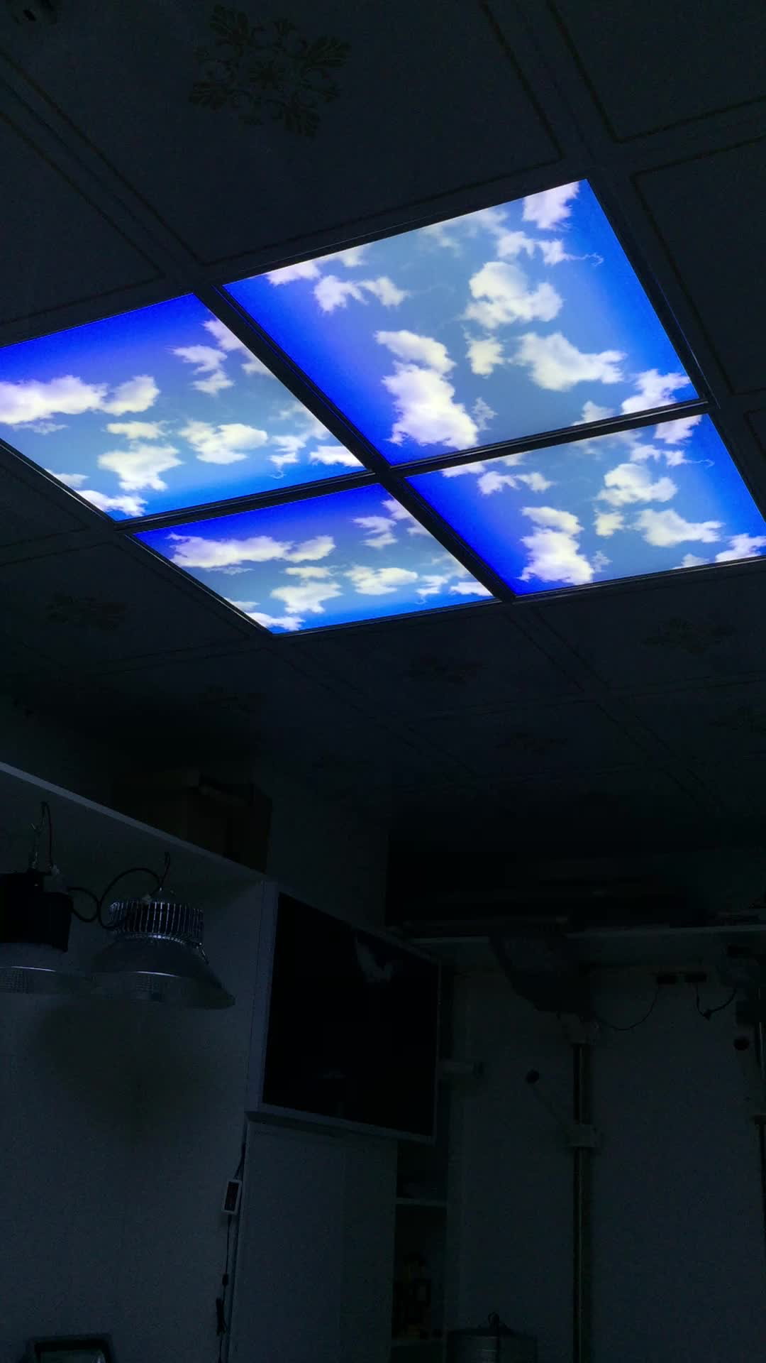 wholesale home and office blue lighting ultra slim 36w led sky