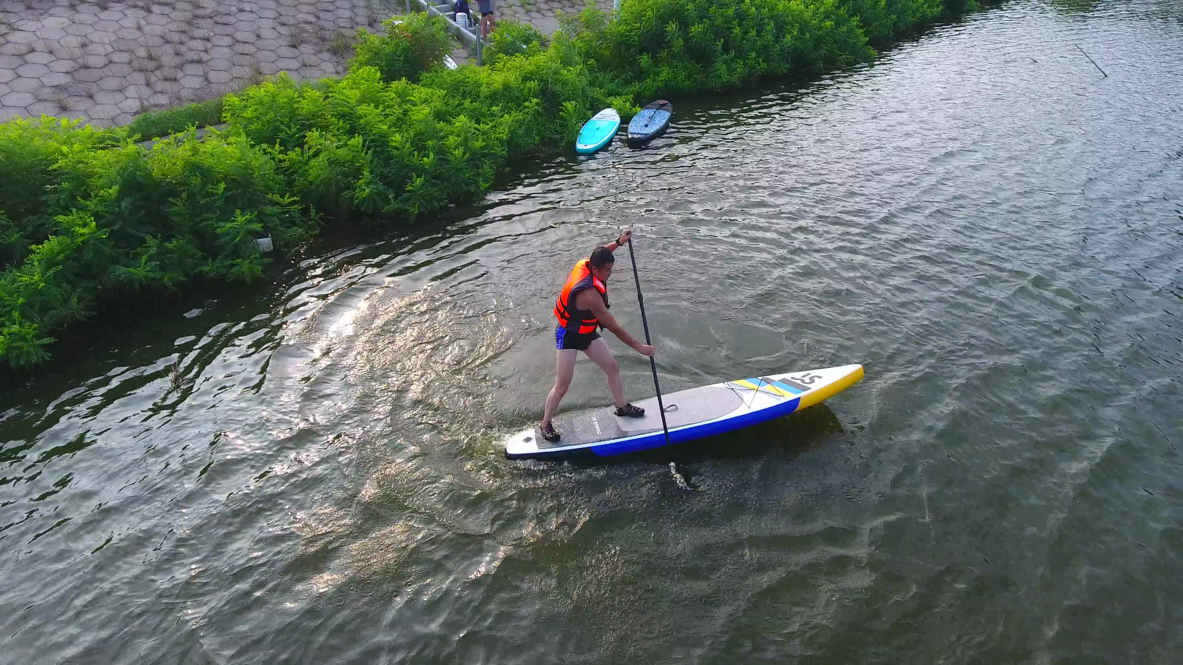 Softboard paddle sup inflatable surf board sup racing board