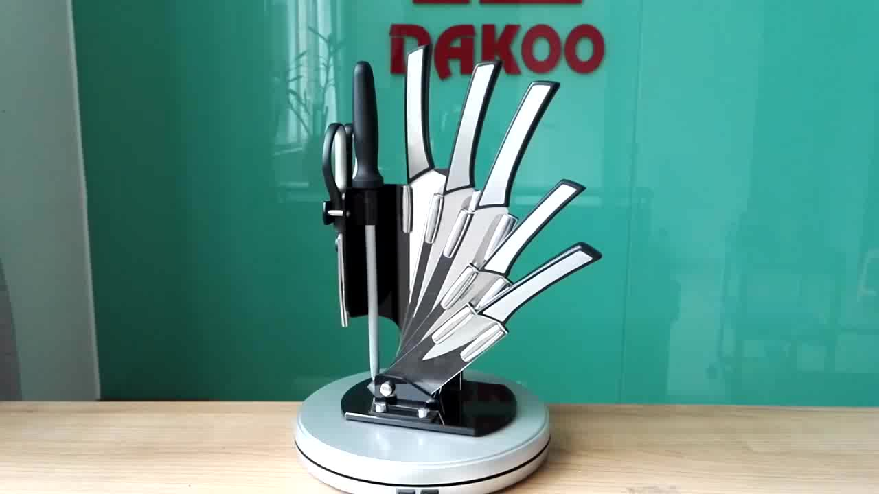 اقتصادية وعملية الجملة 3 قطعة سكاكين المطبخ مع سكين حالة